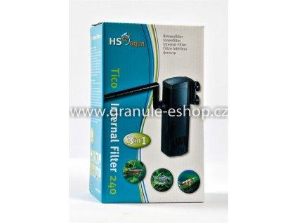Vnitřní filtr do akvária - HS aqua Tico internal filter 3in1 240