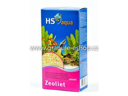 Náhradní náplň pro vnější filtr do akvária - HS aqua Zeoliet 1000 ml