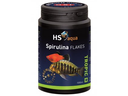 Krmení pro akvarijní ryby - O.S.I. Spirulina flakes 1000 ml