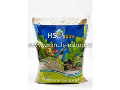 Přírodní písek do akvária 1 - 2 mm - HS aqua světlý štěrk 4 Kg