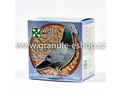 Minerální krmivo pro holuby - Witte Molen Pickstein rot