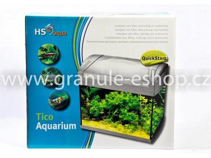 Akvarijní set - HS aqua Tico akvarium 20 Goldfish
