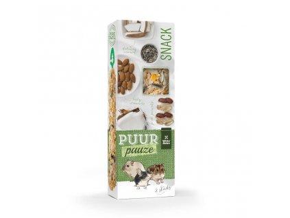 Pamlsek pro hlodavce PUUR Pauze ořechy Witte Molen 110 g