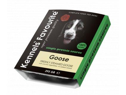 Masová pochoutka pro psy - Kennels' Favourite husa 395 g