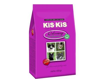 Granule pro kočky KiS-KiS Delicacy selection 450 g
