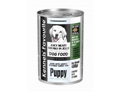 KF Dog 400g TinCan Puppy RGB