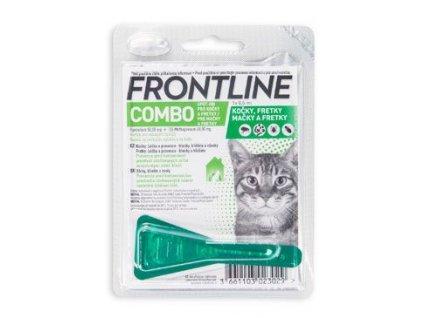 Frontline Combo spot on pro kočky 1 x 0,5 ml  antiparazitní přípravek pro kočky spot on