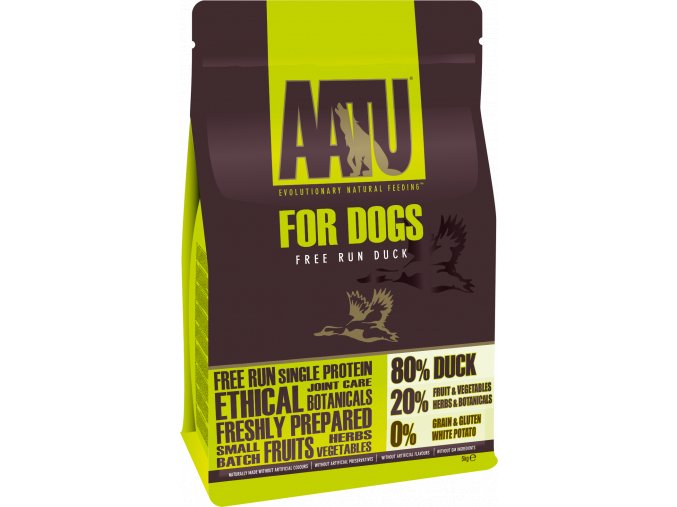 AATU Dog 80/20 Duck 10kg - ROZVOZ BRNO