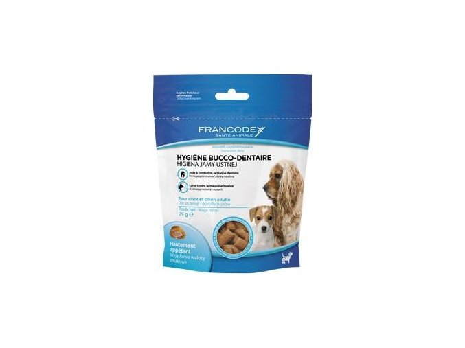 Francodex Pochoutka Breath Dental pes 75g