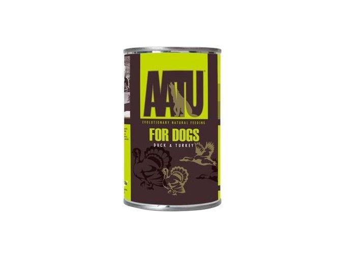 AATU Dog Duck n Turkey konz. 400g