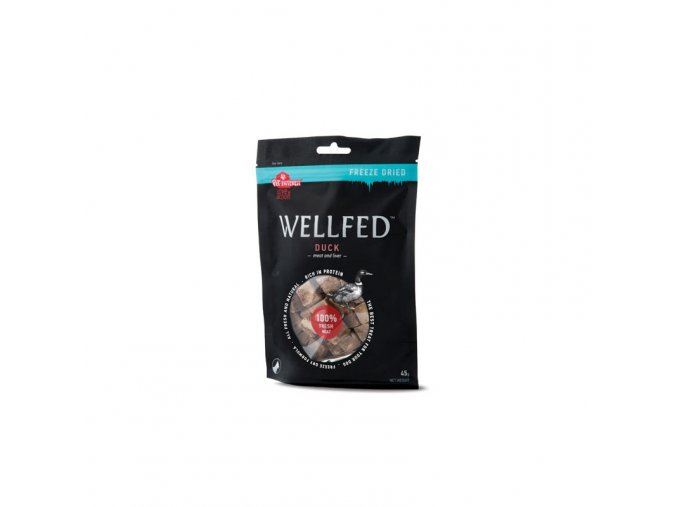 wellfed dog fd duck liver