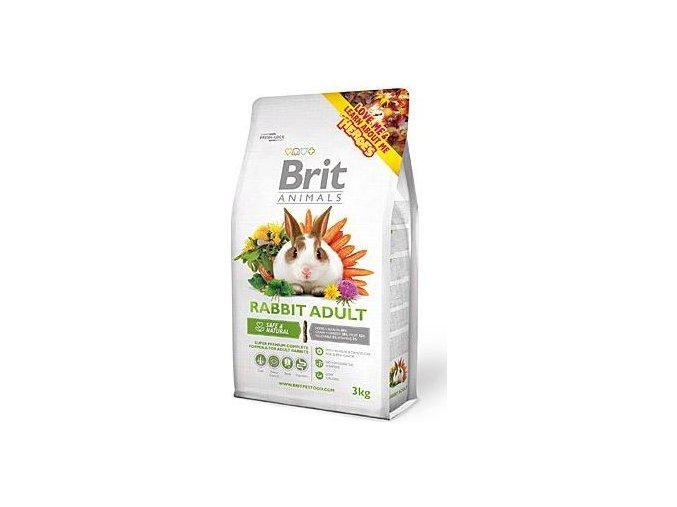 Brit Animals Rabbit Adult Complete 3kg