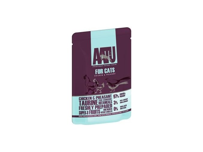 AATU Cat Chicken n Pheasant kaps. 85g - výprodej