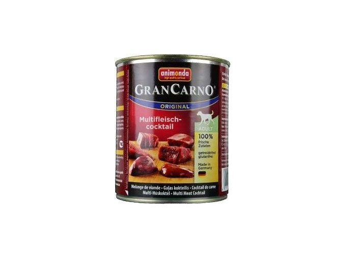 Animonda GRANCARNO konz. ADULT masový koktejl 800g