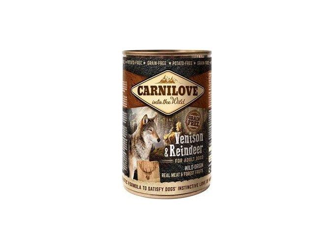 Carnilove Wild konz Meat Venison & Reindeer 400g