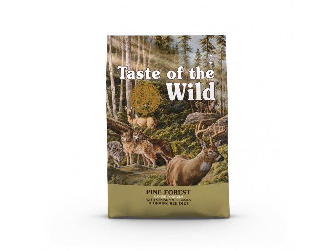 taste pine forest