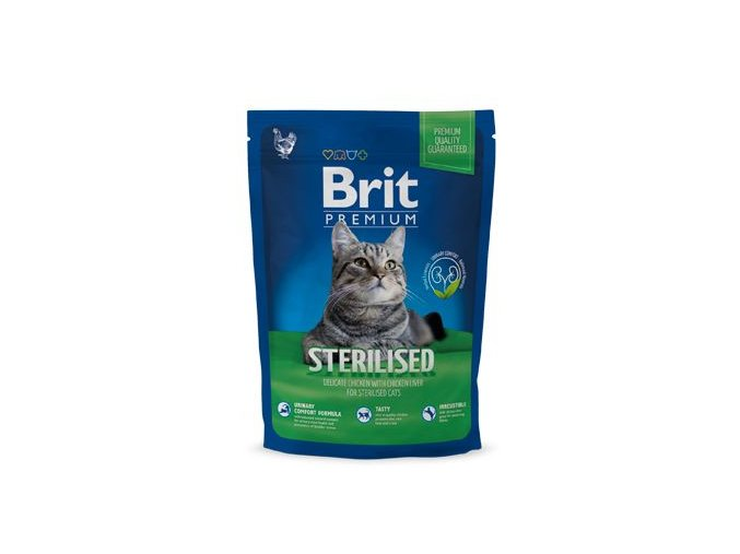 Brit Premium Cat Sterilised 300g NEW