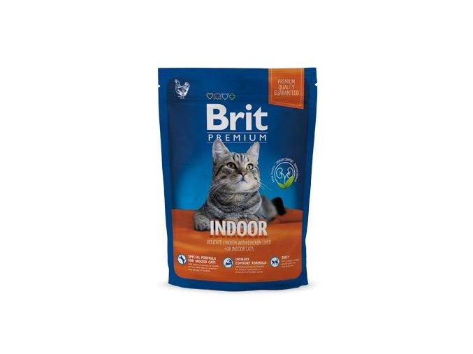 Brit Premium Cat Indoor 800g NEW