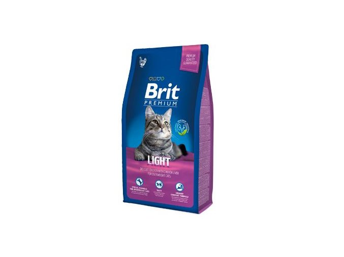 Brit Premium Cat Light 8kg NEW