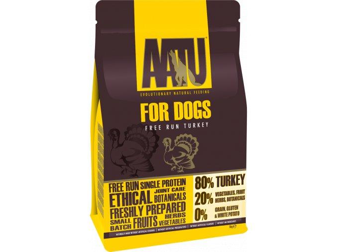AATU Dog 80/20 Turkey 10kg - ROZVOZ BRNO
