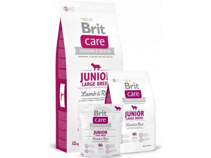 Brit Care Dog Junior Large Breed Lamb & Rice 1kg