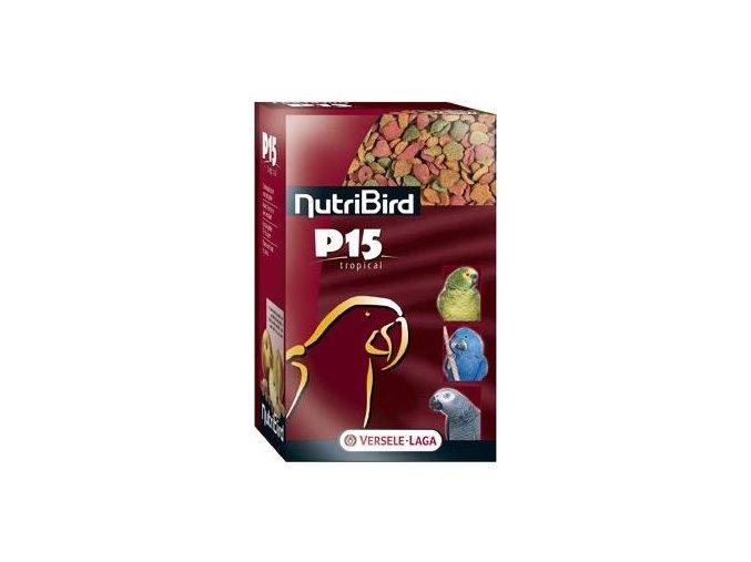 VL Nutribird P15 Tropical pro papoušky 1kg