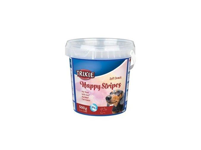 Trixie Soft Snack Happy Stripes hovězí pásky 500g TR