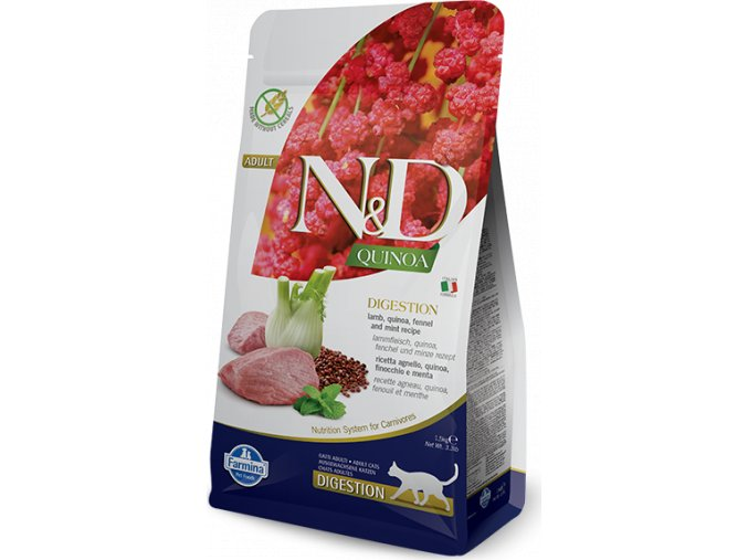 N&D Quinoa CAT Digestion Lamb & Fennel 300g
