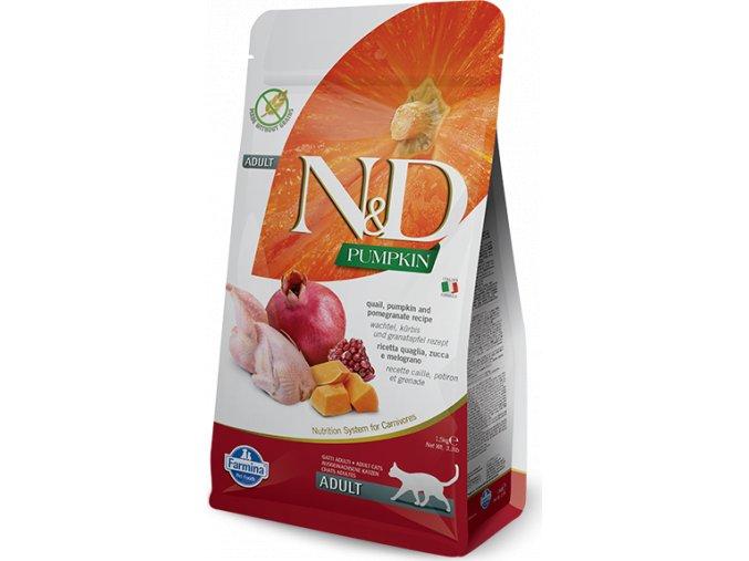 N&D Pumpkin CAT Quail & Pomegranate 1,5kg