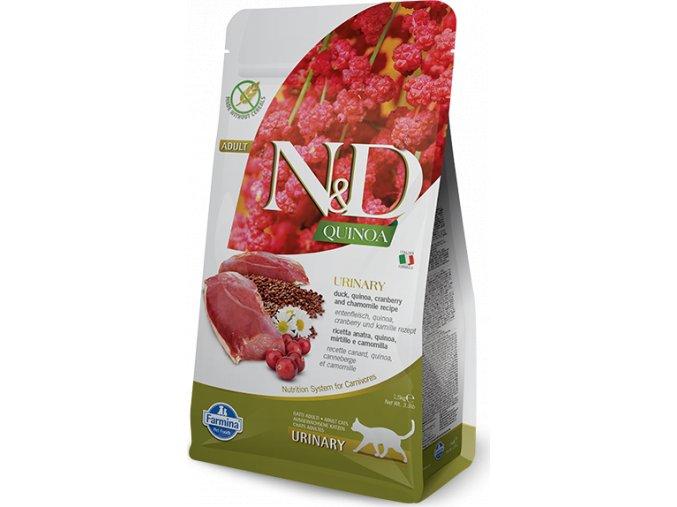 N&D Quinoa CAT Urinary Duck & Cranberry 300g