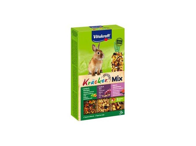 Vitakraft Rodent Rabbit poch. Kräck Trio mix 3ks