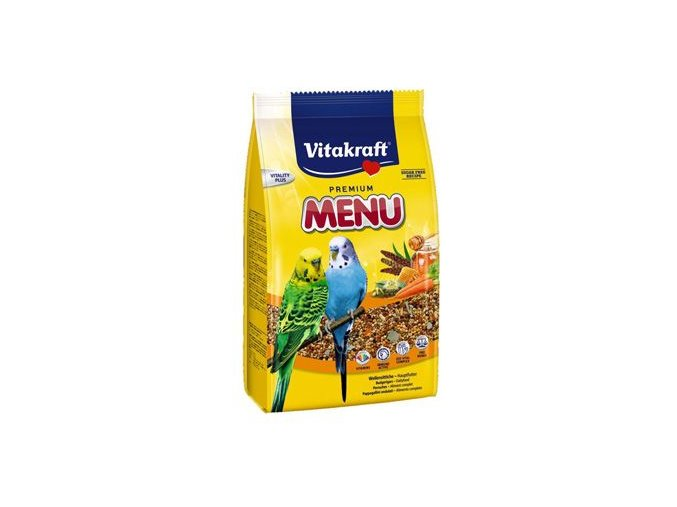 Vitakraft Bird krm. Menu vital honey budgie 500g