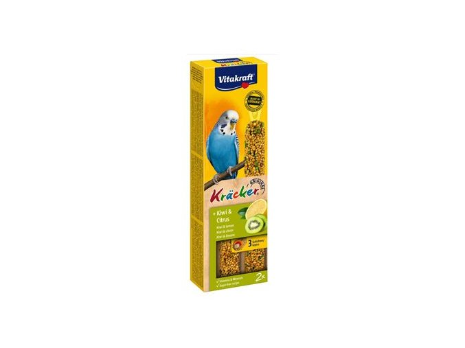 Vitakraft Bird Kräcker  Andulka Kiwi + Citrus tyč 2ks