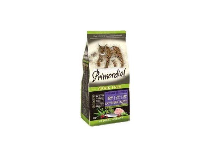 Primordial GF Cat Sterilizzato Turkey Herring 2kg