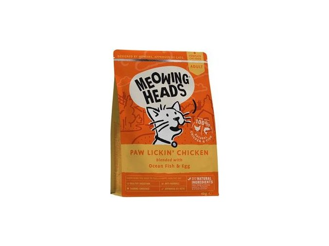 MEOWING HEADS Paw Lickin' Chicken 4kg