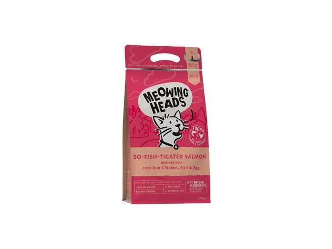 MEOWING HEADS So-fish-ticated Salmon 1,5kg