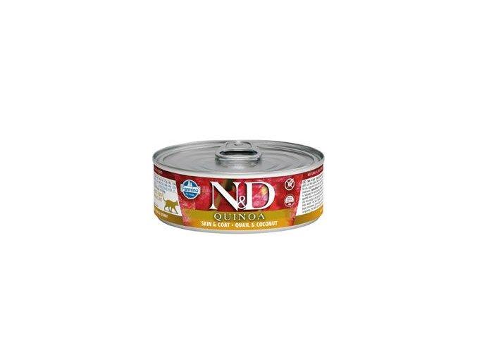 N&D CAT QUINOA Adult Quail & Coconut 80g