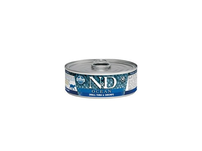 N&D CAT OCEAN Adult Tuna & Shrimps 80g