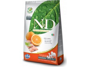 N&D GF DOG Adult Fish & Orange 2,5kg