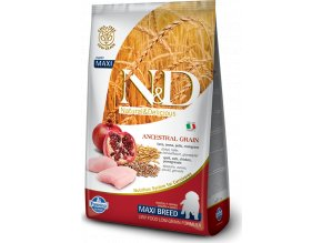 N&D LG DOG Puppy Maxi Chicken & Pomegr 12kg