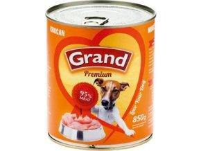 GRAND konz. pes krocaní 850g