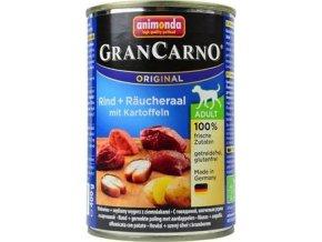 Animonda GRANCARNO konz. ADULT úhoř/brambor 400g
