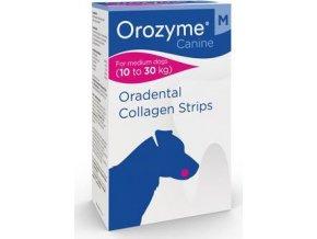 Orozyme plátky žvýkací pro psy M 10-30kg 141g