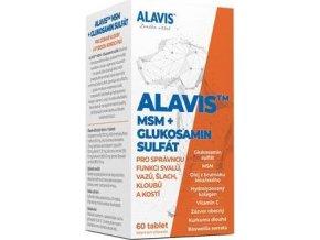 Alavis MSM+Glukosamin sulfát pro psy 60tbl