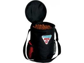 Miska nylon cestovní na krmivo 1,8l+zásobník 1,5kg TR
