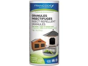 Francodex Granule repelentní in+out 1kg