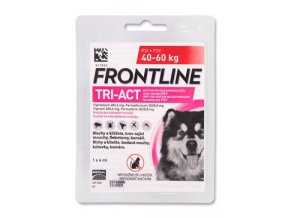 Frontline Tri-Act pro psy Spot-on XL (40-60 kg) 1 pip