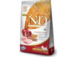 N&D LG DOG Adult Mini Chicken & Pomegranate 7kg