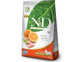 N&D GF DOG Adult Mini Fish & Orange 2,5kg