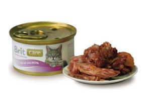 Brit Care Cat konz.tuňák & losos 80g